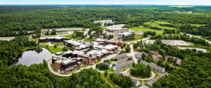 Nipissing University North Bay Campus - aerial view