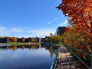 Nipissing University North Bay Campus - pond view
